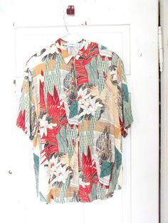 Blouse Vintage 1990 by VINTAGECHI on Etsy, $18.00