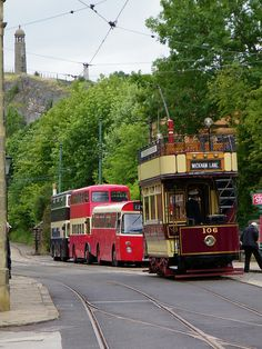 Tram and buses - Crich. | Flickr - Photo Sharing!                              …