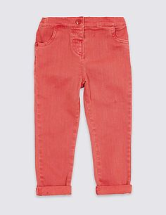 Cotton Jeans with Stretch (3 Months - 5 Years)