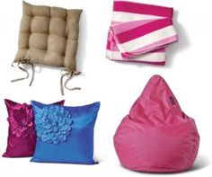 Huge Range of Throws, Cushions, Seat Pads and Beanbag Covers