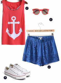 4th of July Outfit Ideas See more here: http://www.weddingchicks.com/4th-of-july-outfit-ideas/