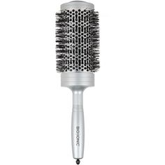 Bio Ionic 'SilverClassic' Extra Large Brush (145 RON) ❤ liked on Polyvore featuring beauty products, haircare, hair styling tools, brushes & combs, no color, bio ionic, bio ionic brushes and brush comb