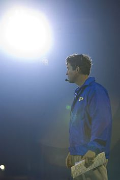 Coach Taylor - Friday Night Lights . Loved this show, its amazing a must watch. The acting and storylines are superb