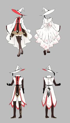 Announcing the Winners of the Gear Design Contest (Ranged Magic DPS/Healer Edition)! Anime Outfits, Mode Outfits, Kleidung Design, Drawing Anime Clothes, Anime Drawings Sketches, Fashion Design Drawings, Image Manga, Drawing Reference Poses, Drawing Base