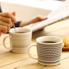 $4.03 U-PICK the original the product lives geometry Cup cup coffee cup - Triangle / polyline Milk Cup creativity-ZZKKO