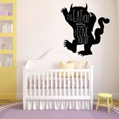 where the wild things are wall decals galleryhip quote vinyl decal sticker eat you