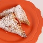 Strawberries and Cream Turnovers Recipe - Laura in the Kitchen - Internet Cooking Show Starring Laura Vitale