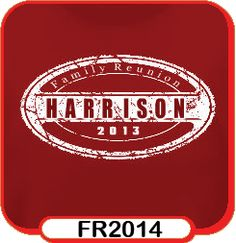 Design Custom Family Reunion T-Shirts Online by Countrywide Promotions