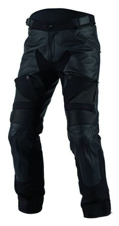 Sport protection with cruiser comfort, the Dainese Cruiser D-Dry Pants blend a mix of washable Tutu cowhide leather with cordura and S1 stretch panels to cre...