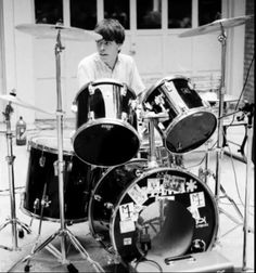 Young Dave on Drums..
