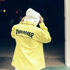 The HUF x Thrasher Tour de Stoops collab culminates in a capsule collection available now at @ateaze_atx.