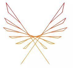 minimalistic phoenix on We Heart It
