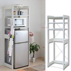 ideas for kitchen hacks diy storage shelves Diy Storage Shelves, Dorm Storage, Dorm Room Organization, Storage Hacks, Dorm Room Shelves, Ikea Dorm, Dorm Kitchen, Kitchen Hacks, Dorm Fridge