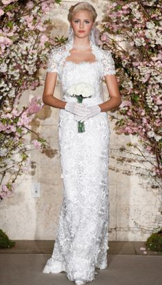 Oscar De La Renta spring 2012 bridal collection