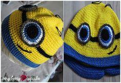 Minion cap for children or adults #minion #mütze #descpicableme