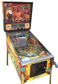 Indiana Jones Pinball Adventure pinball machine / Made in 1993 by Williams...My dream pinball machine, which I will own someday!!!
