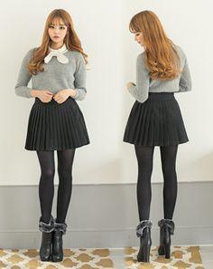 AROOKI [5.스커트] Korean Online Shopping, Korean Women, Korean Fashion, Skater Skirt, Fashion Women, Skirts, K Fashion, Women's Work Fashion, Skirt