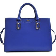 Hugo Boss Mila Milano grained leather bag