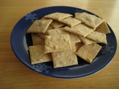 Savory Seasonings: Crackers:Cheddar Goldfish, Graham, and Wheat Thins