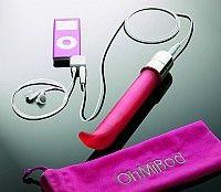 OhMiBod Music Driven G-Spot Vibrator - plug in your IPhone or IPod and rock your own world! Sensual Seduction, Hifi Audio, Chrome Finish, Satin Finish, Dildo, Electric Guitars, Laptops, Music, Toys