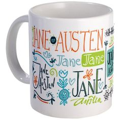 Jane Austen handwritten Mug http://www.cafepress.com/mf/47016536/jane-austen-handwritten_mugs