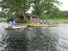 Lake Webster, Treehouse Island, Indiana Webster Lake Vacation Rental #4552  LakeHouseVacations.com