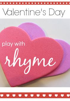 """Valentine's Day Fill-In Rhyme 