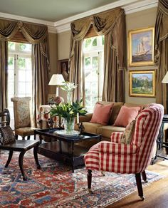 25 best traditional living room designs | traditional living rooms