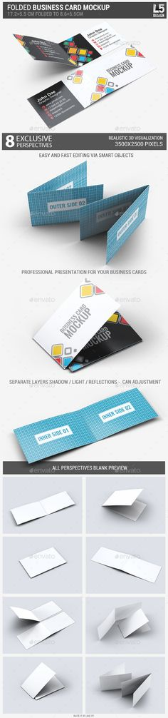 graphicriver paper tri-fold table tent mock-up template vol 4-adds