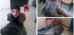 PKK soldiers captured by Turkish military.