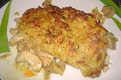 Geschnetzeltes mit Kartoffelhaube 1