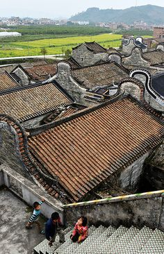 Roofs - China