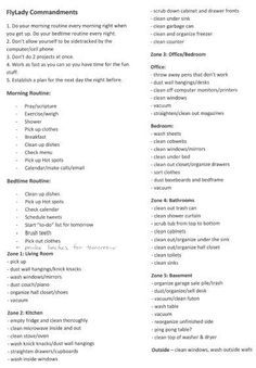 Deep Spring Cleaning Checklist Home