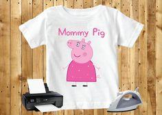 Fancy Dress Mommy Pig Peppa Pig iron on transfer Fancy Dress