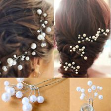 wedding pearls hair - Google Search