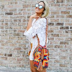 Inspired by Wayuu art celebrity favourite Chila Bags are ready to comlete your…