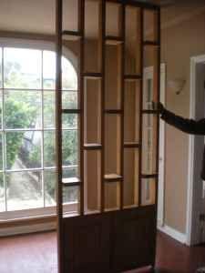 Room Divider originally built for a 60's home- found on LA Craigslist, $200