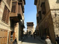 The Al-Muizz #Street is one of the oldest streets in the city of Cairo in Egypt , located within the area of Historic Cairo . It is approximately a mile long and stretches from Bab al Futuh in the north to Bab Zuweila , in the south. Visit street with Cairo airport car rental and know more about Egypt culture, traditions, fashions and more. For reservation a car visit cairoairportcarrentals.com