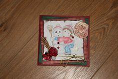 Kerstkaart 2013 door Ineke Verkaart