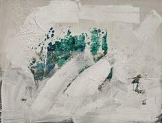 O Gesto  -  da série O Negro e o Gesto (Pintura),  90x116 cm por Maria Antónia…