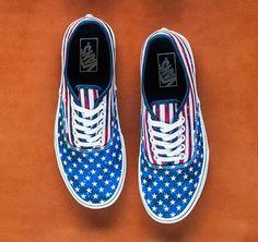 Vans Review And Talk · Vans Authentic (Americana) Dress Blues  vansshoes   vans  authentic  usflag   baeb91d6a5