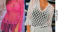 Blusas a crochet/crochet blusas de moda BLUSA EN CROCHET