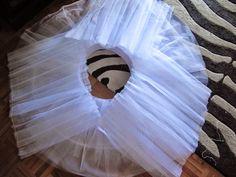 Tutorial para hacer un tutú de ballet de plato con aro.   Si Coppelia vistiera de Prada Tailoring Techniques, Sewing Techniques, Tutu Ballet, Ballet Clothes, Ballet Outfits, Festival 2017, Ballet Costumes, Diy Dress, Dance Wear