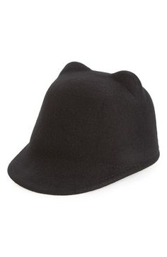 Amici Accessories Amici Accessories Animal Ear Wool Hat available at #Nordstrom