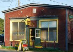 the Seaside Shanty restaurant, Chester Basin, Nova Scotia