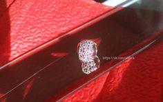 Купить Шармы на браслет пандора - ярко-красный, шарм, посеребрение, кулон с камнем, Кристаллы swarovski