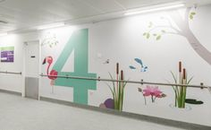 View full picture gallery of Great Ormond Street Hospital Clinic Design, Commercial Interior Design, Commercial Interiors, Hospital Signage, Children's Clinic, Hospital Pictures, Hospital Design, Childrens Hospital, School