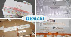 Imperdível, convites de casamento e 15 anos, a partir de R$ 2,80 cada. http://www.digiartrp.com #convite #casamento #15anos #noiva #barato