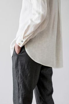 linen shirt from Ode to Sunday