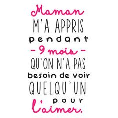 Sticker mural 9 Mois Noir et coloris fuchsia 30 x 55 cm – Best Pins Live Pregnancy Quotes, Baby Quotes, Maternity Quotes, The Words, Quote Citation, French Quotes, Mantra, Quotes About Strength, Positive Attitude